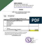 Invoice Pembayaran Paket Family Gathering BCA