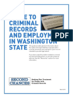 Criminal background guidelines in Wa state