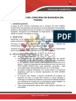 Concurso Busqueda Del Tesoro PDF