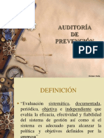 Auditoria de Prevencion