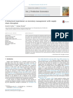 A Behavioral Experiment on Inventory Managem 2015 International Journal of P
