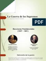 Unidad 5 La Guerra de Los Supremos - Steven Sarmiento
