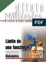 1407-16 MATEMATICA Límite de Una Función