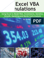 100 Excel VBA Simulations_ Using Excel VBA to Model Risk, Investments, Genetics, Growth, Gambling, And Monte Carlo Analysis