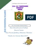 Carpeta Pedagogica 2018 IVAN