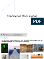 2.- Fenómenos ondulatorios