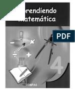 Aprendiendo Matemática 4° libro