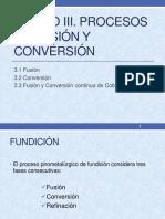 Fusión y Conversión
