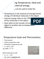 SCES3083 Topic6 Temperature and Heat