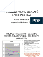 PRODUCTIVIDAD DE CAFÉ EN CHINCHINA
