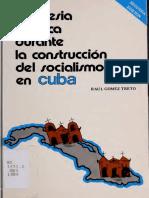 La Iglesia Catolica en La Construccion Del Socialismo en Cuba
