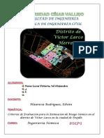 Grupal-procedimiento Para La Evaluación de Riesgo Sísmico