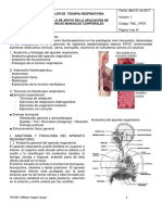 TALLER 1 _Fisioterapia Respiratoria