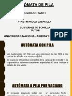 Presentación Automatas Pila