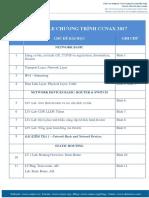 Schedule CCNAX 2017