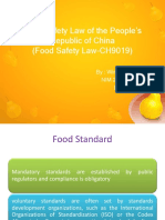 Pp Food Safety