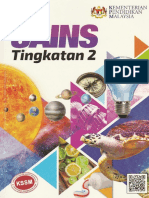 Buku Teks Sains Tg 2 Kssm 2018