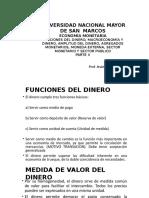 Parte II, Funciones y Extencion Del Dinero