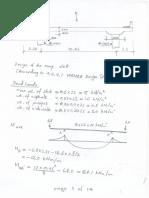 Proposed Ramp Slab Design