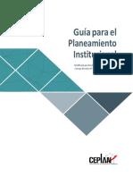 Guía Para El Planeamiento Institucional Nov2017 Web