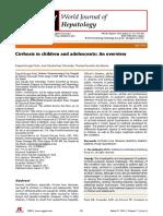 World Journal of Hepatology - Cirrhosis Hepatic