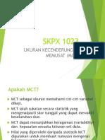 Kuliah 2- Statistik Deskriptif 1- MCT