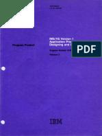 SH20-9026-8 IMS vs Version 1 Application Programming Designing and Coding Mar81