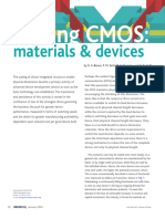 Materials Today Volume 7 Issue 1 2004 [Doi 10.1016%2Fs1369-7021%2804%2900051-3] G.a Brown; P.M Zeitzoff; G Bersuker; H.R Huff -- Scaling CMOS- Materials & Devices