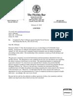 Appendix 2, TFB 2014-30,525 (9A) Florida Bar Complaint Danielle N Parsons