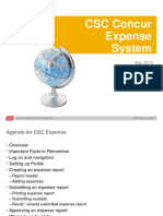 Concur CSC Asia Expense System User Guide_ME (May 2014)