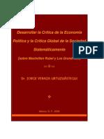 Crítica  Economía Política y Global Sociedad