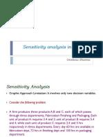 Sensitivity Analysis in Simplex Method - GJS