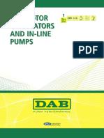 DAB Pumps Catalogo 01 Circolatori Eng