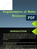 Augmentation of Water Resources (CHAPTER 2)