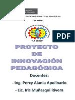Proyecto de Innovacion 2015