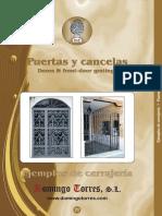Catalogo Puertas Cancelas