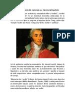 Fouché, El Genio Del Espionaje Que Traicionó a Napoleón