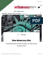 How Democracy Dies