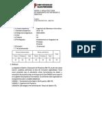 Syllabus Diseño y Evaluación de Proyectos