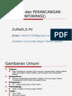 00-Pendahuluan Perncangan Sistem Informasi