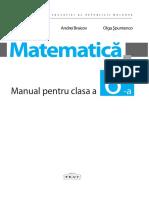 VI_Matematica (a. 2017, In Limba Romana)