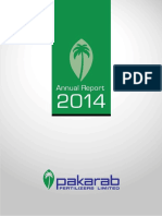 Pakarab Fertilizers Limited Report