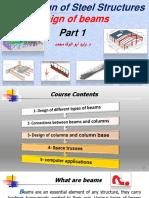 2- Design of steel beams (part 1). وليد أبو الوفا Ain Shams.pdf
