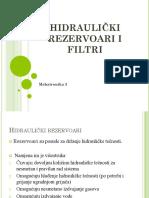 13. HIdraulički Rezervoari i Filteri