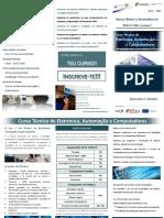 Curso Profissional TEAC Folheto