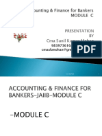 jaiib accounting Module c and Module D