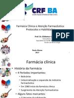 Farmácia Clínica e Atenção Farmacêutica_Protocolos e Habilidades