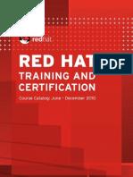 Red Hat Training Catalog