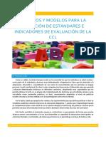 Criterios y Modelos Para La Selección de Estándares e Indicadores de Evaluación de La CCL