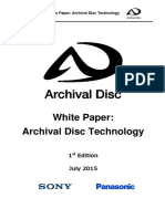 Archival Disc Technology